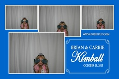 Brian and Carrie Kimball Wedding