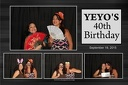Yeyo's 40th Birthday